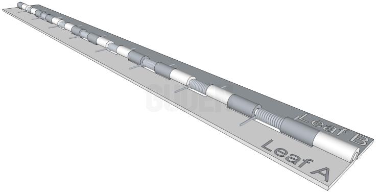 torsion hinge. custom hinge selection tool torsion